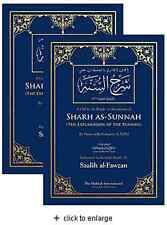 Sharh As-Sunnah - The Explanation of The Sunnah (2 Vol. Set - HB) (22x15cm)