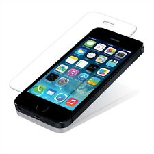 100% GENUINE Hard Tempered Glass Film Screen Protector For Apple iPhone 5 5s 5c