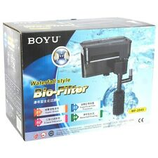 BOYU Hang On Back Filter | Waterfall Style | WF-2045 | 500 L/H