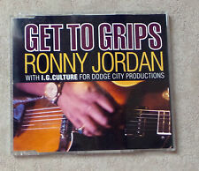 "CD AUDIO MUSIQUE / RONNY JORDAN WITH I.G. CULTURE ""GET TO GRIPS"" CDM 1992 5T"