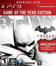 Batman: Arkham City Game of the Year Edition PS3 New Playstation 3