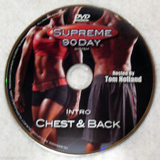 SUPREME 90 DAY WORKOUT - Intro Chest & Back - New DVD - Shot In HD