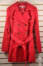 NWT W's DKNY Hooded(detachable) Double-Breasted Trench Coat. Sz. PM(Petite Size)