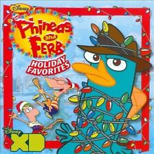PHINEAS AND FERB HOLIDAY FAVORITES NEW CD