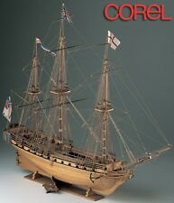 Corel HMS Unicorn British Frigate Wooden Ship Model Kit 1:75 Scale SM11 NEW
