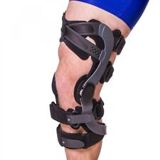 """""""New"""" DeRoyal Functional ACL Knee Brace: Right, Large, Black, Low Contact"""
