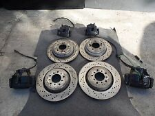BMW E46 M3 COMPETITION ZCP CSL FRONT & REAR CALIPERS ROTORS BRAKES CALIPER ROTOR