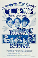 """The Three Stooges in Rumpus in the Harem Movie Poster Replica 13x19"""" Photo Print"""