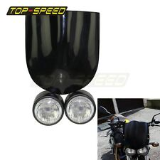 Buell style Screen Streetfighter Cafe Racer GSF600 SV650Twin Dominator Headlight
