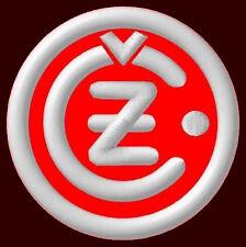 """ČZ EMBROIDERED PATCH ~3-1/8"""" MOTORCYCLE CZ 125 ČZ 150 ČZ 175 ČZ 250 ČZ 350 ČZ500"""
