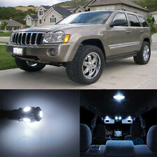 10pcs White SMD Interior LED Lights Kit For 2005-2010 Jeep Grand Cherokee WK