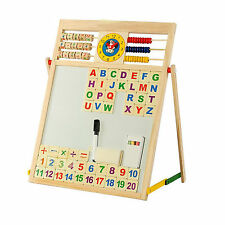 Children EDUCATION Chalk White Black Board Easel Creative Reading Writing KidS