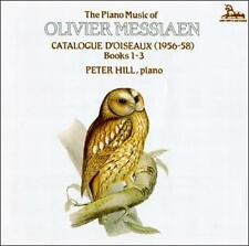 PETER HILL [PIANO] - Olivier Messiaen: Catalogue DOiseaux... CD * SEALED/ NEW *