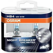 HB4 9006 OSRAM NIGHT BREAKER UNLIMITED +110% 12V 51W EXTRA LIGHT