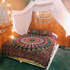 Indian Queen Size Bedding Set Mandala Bohemian Hippie Bedspreads Tapestry Throw