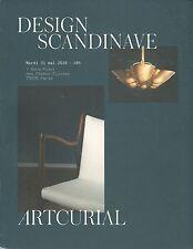 ARTCURIAL SCANDINAVIAN DESIGN Acking Frank Henningsen Juhl Kjaerholm Catalog 16