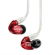 EMS New SHURE SE535LTD-J Noise Isolating Earphone Headphone Special Edition Red