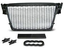 SHIELD POWER, GRILLE, GRID BEFORE AUDI A4 B8 08-11 BLACK RS-STYLE