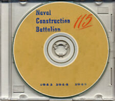 Seabees 115th Battalion Log WWII on CD RARE
