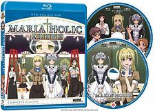 Maria Holic Alive . The Complete Series Collection . Anime . 2 Blu-ray . NEU