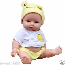 Reborn Baby Doll Soft Vinyl Silicone Lifelike Newborn Baby Dolls for Girl Gift