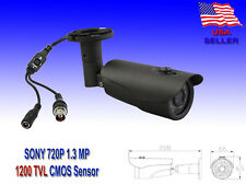 1200 TVL 720P 1.3 MP Sony CMOS OSD WDR 3 Axis Night CCTV Bullet Security Camera