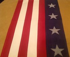 Kitchen Towel, Stars And Stripes, Dark Red, White, Navy Blue, Cotton, Kay Dee