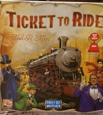 Ticket to Ride Train Board Game Days Of Wonder Alan R. Moon