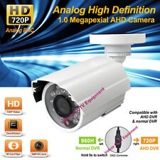 AHD HD 720P 1.0MP IR-CUT NIGHT VISION OUTDOOR Metal CCTV Security BULLET CAMERA