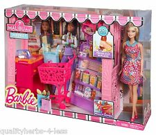 Mattel Barbie Life in The Dreamhouse Malibu Grocery Store & Doll Playset Toys