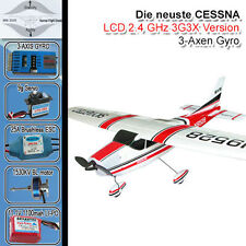 Cessna 182 Skylane RC aereo 3g3x RC Brushless/LiPo Piper RTF ready to fly fz2