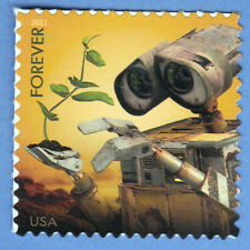 WALL-E ROBOT Disney Forever STAMP Send a Hello 2011 Miracle Plant UNUSED POSTAGE