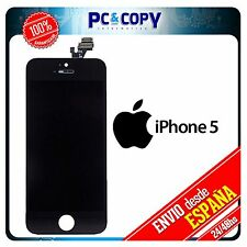 Pantalla LCD RETINA + Tactil completa para iPhone 5 5G  NEGRO SCREEN CALIDAD A+