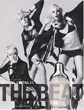 BURBERRY PARFUM - THE BEAT - PUBLICITE PRESSE - PAPER ADVERT - COUPURE MAGAZINE