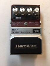 Digitech RV-7 Hardwire Stereo Digital Lexicon Reverb 7-Modes Guitar Effect Pedal