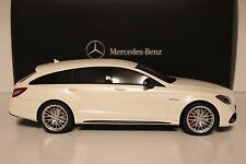 GT Spirit Mercedes Benz CLS 63 AMG Shooting Brake White Dealer Edition 1/18 New
