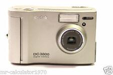 Kodak DC 3800 2.1 MP Digital Camera - Metallic silver