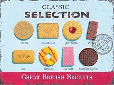 Classic Biscuits Vintage, Kitchen Cafe Old Shop, Tea Food, Novelty Fridge Magnet