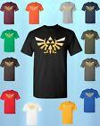 The Legend of ZELDA * T-SHIRT * triforce logo video game tee Nintendo gamer