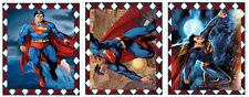 "9 ""SUPERMAN"" (01) SCRAPBOOK EMBELLISHMENTS HANG/GIFT TAGS"