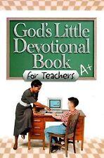 God's Little Devotional Book for Teachers (God's Little Devotional Books)