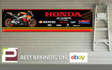 Repsol Honda CBR 1000rr Logo Banner for Workshop, Garage, Pit Lane, HRC