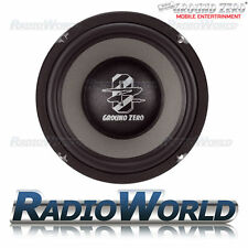"Ground Zero Radioactive GZMW200NEO 8"" Slim Sub Subwoofer Bass Car Audio 150W"