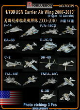 PE 1/700 USN Carrier Air Wing 2000'-2010'(9 types 51 Aircrafts,F/A-18 etc) 70039