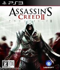 Used PS3 Assassin's Creed II SONY PLAYSTATION 3 JAPAN JAPANESE IMPORT