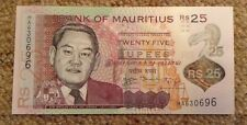 Mauritius Banknote. 25 Rupees. Polymer. Unc