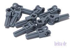 LEGO Technik - 10 x Verbinder Kreuzloch Achse dunkelgrau  / 6553 Neuware (e15)
