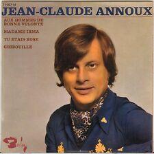 """JEAN-CLAUDE ANNOUX """"AUX HOMMES DE BONNE VOLONTE"""" EP"""