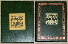 HOBBIT Tolkien TRUE 3rd PRINT COLLECTOR'S EDITION ~ LEATHER HC in SLIPCASE