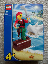 LEGO - Juniors Pirates - Super Rare 7082 Cannonball Jimmy and Shark - New Sealed